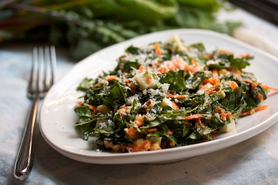 The best kale salad recipe around #good #eats