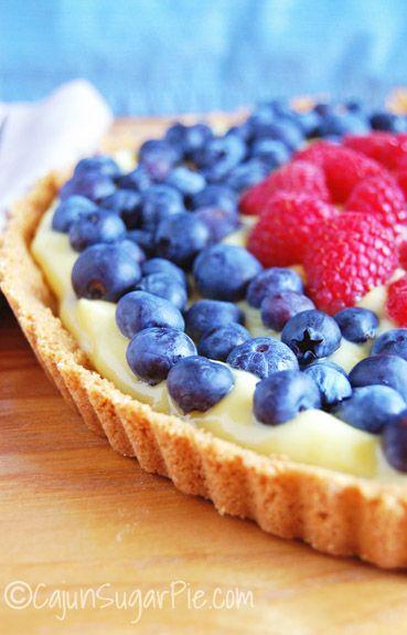 Easy Fruit Tart @Cajun Sugar Pie
