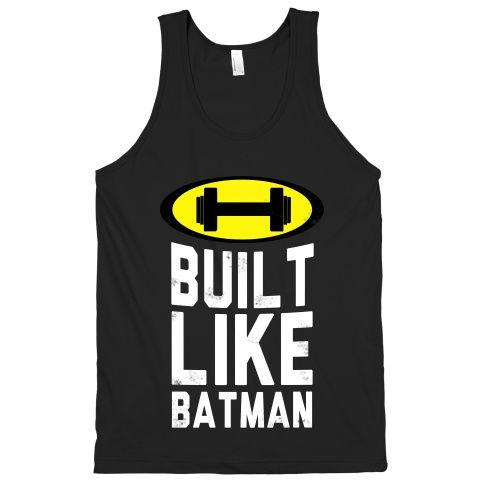 You worked hard to look this good. Wear that pride your strived for on this awesome comic themed workout shirt! #batman #workout #exercise #fitness #athletic #gym