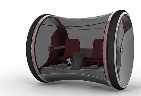 Ozone Hydrogen Powered Concept Car