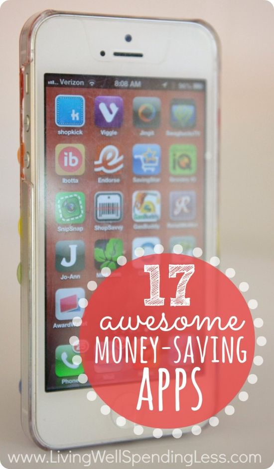 17 Awesome Money-Saving Apps