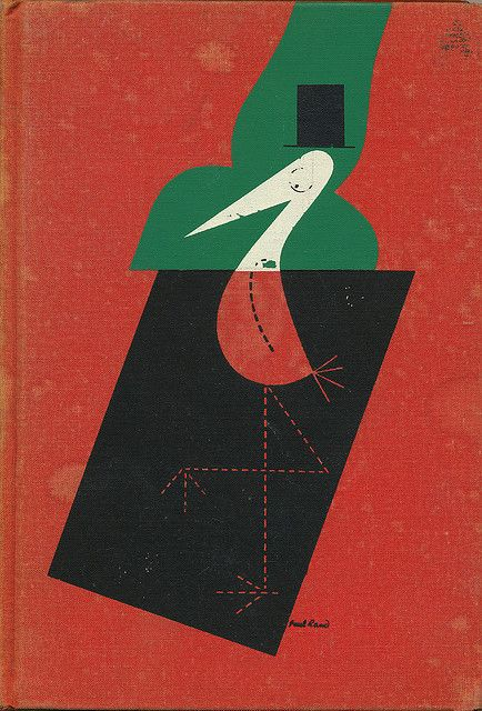The Stork Club Bar Book cover by Paul Rand
