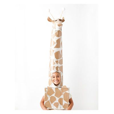 DIY Halloween Costume: Giraffe