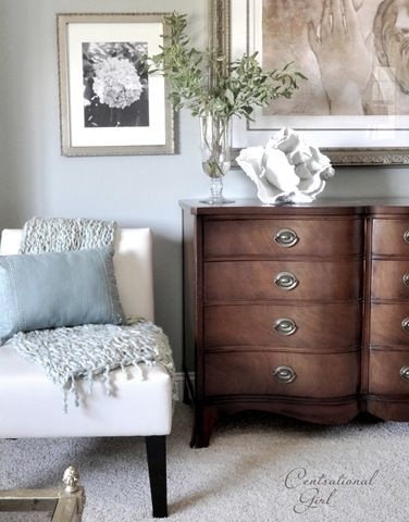 centsational girl slipper chair and dresser