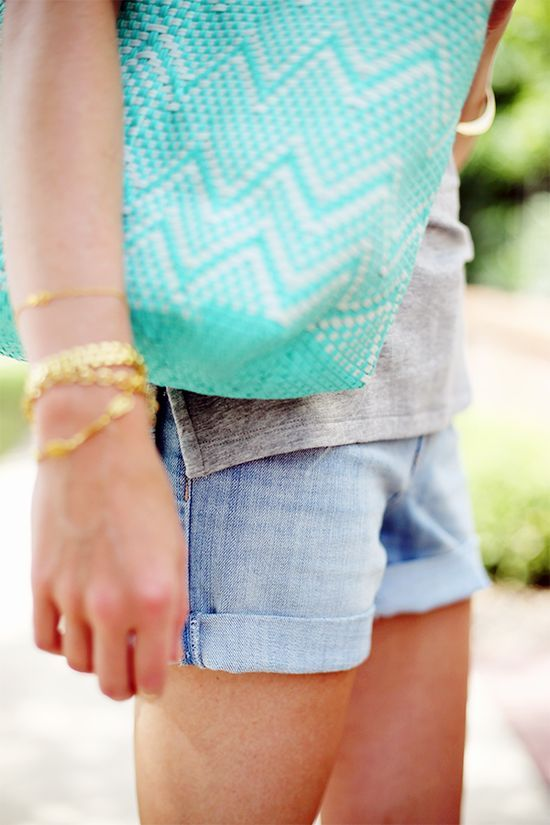 Cuffed #clothes for summer #summer clothes #fashion for summer