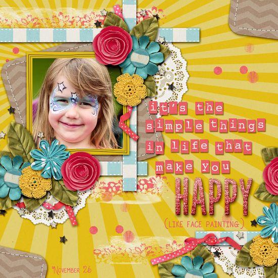 Make You Happy - Scrapbook.com