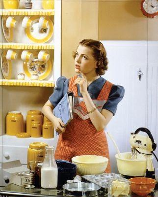Retro Baking!