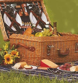 love a picnic in the country