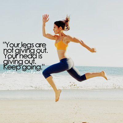 Perfect mantra to push me through interval sprints.