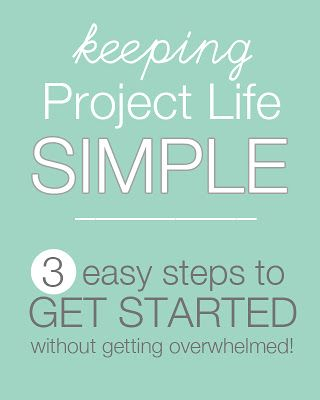 Always wanted to try Project Life, but don't know where to start? This post is for you! www.sisterssuitca... #projectlife