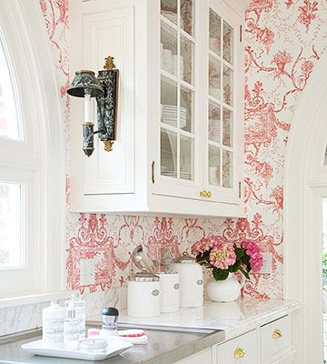 Color with White Cabinets