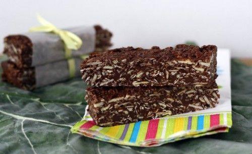 No Bake Nutella Granola Bars