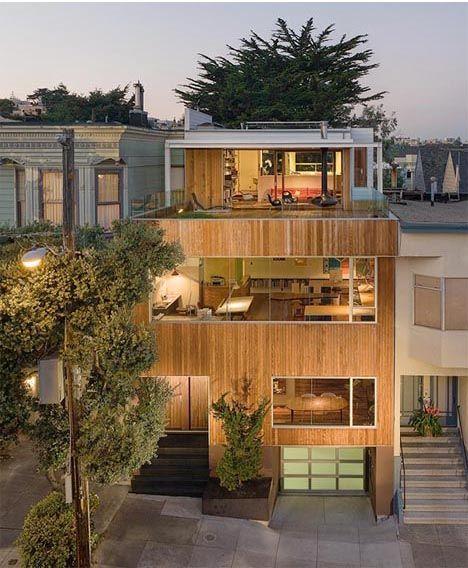 Modern home in San Francisco