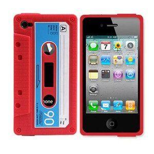 Cassette iPhone case.