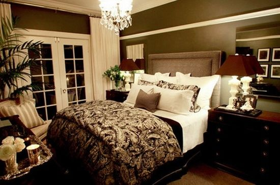Calming Master Bedroom Ideas - Small but big on luxury