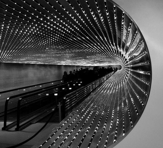 """Multiverse"" by Leo Villareal"