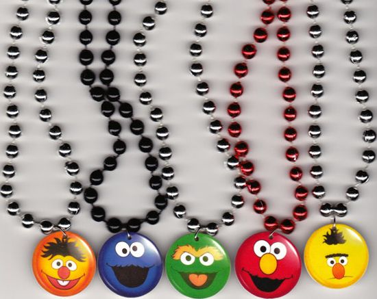 Sesame Street Inspired Birthday Party Favor by Oseweverything, $12.00
