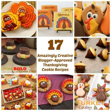17 Creative Thanksgiving Cooke Recipes