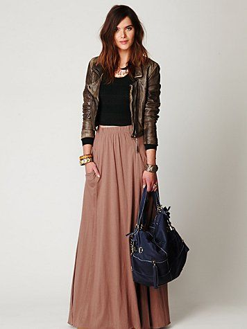 Tough look Maxi from Free People