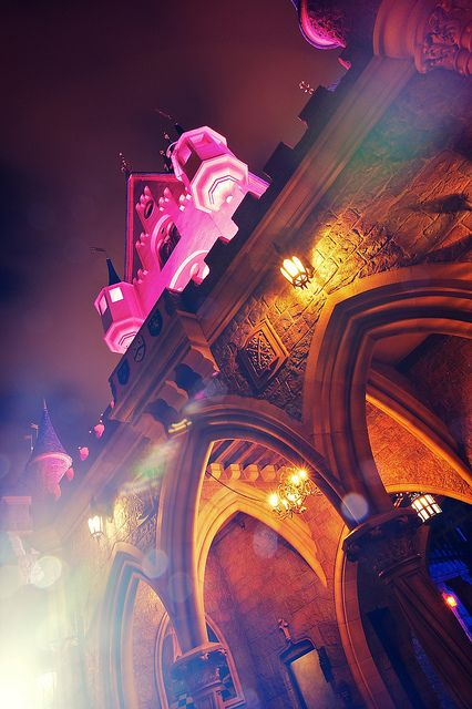 sleeping beauty's castle