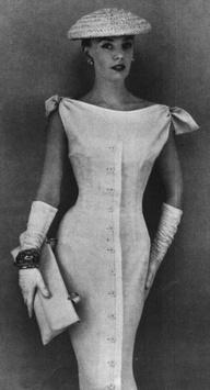 1950's Glamour. ?    #vintage fashion
