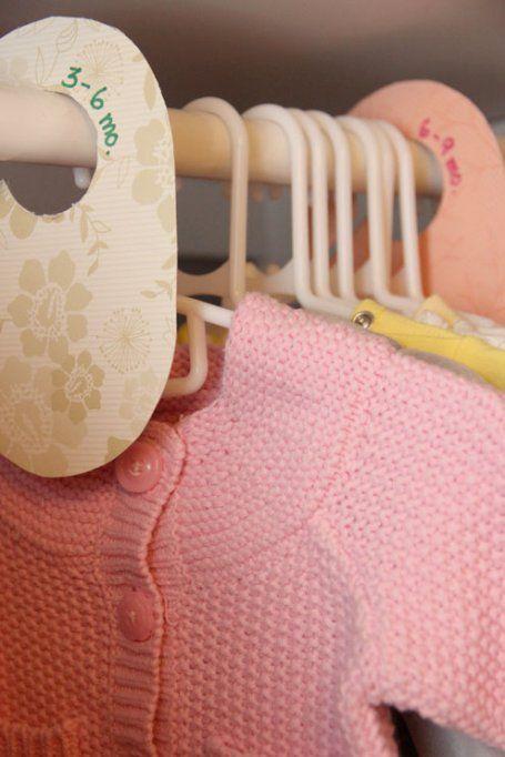 DIY Baby ClothesDividers