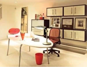towhouse home office design furniture decorating idea by IKEA office design ideas ikea 6 300x229 office design ideas