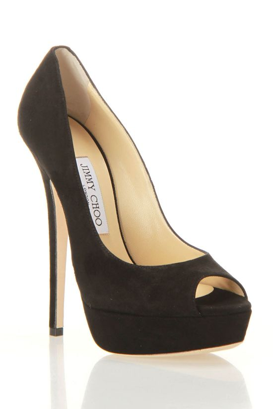 Jimmy Choo Vibe Pumps In Black.