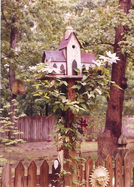 Crane's Nest Birdhouse....