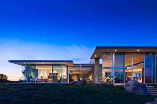 Luxury house design-Modern Art Carpinteria Foothills Residence by Neumann Mendro Andrulaitis Architects in Carpinteria, California