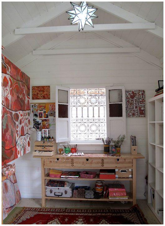 painting studio idea