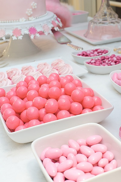 Pretty pink candy