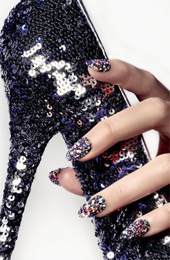 #Holiday Party: Ciaté 'Sequin Manicure - Harlequin' Set #Nordstrom #Beauty #Nails