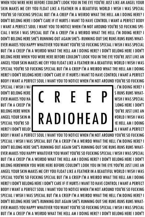 Creep lyrics