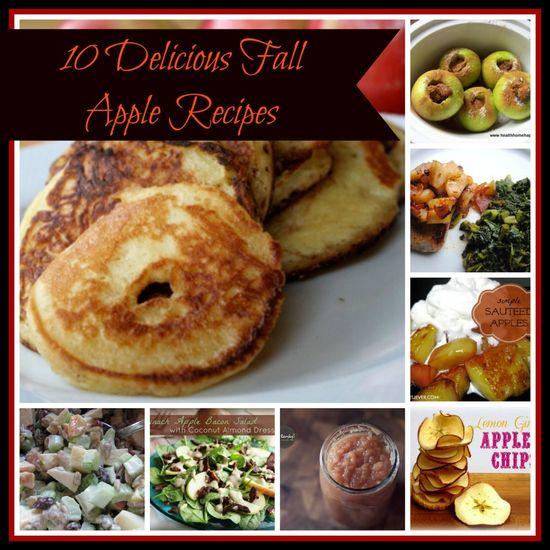 10 Delicious Fall Apple Recipes