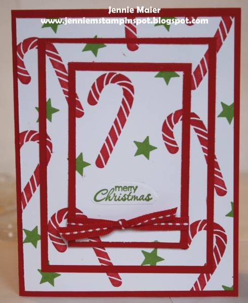 SUO-Triple Layer Christmas by CraftyJennie - Cards and Paper Crafts at Splitcoaststampers