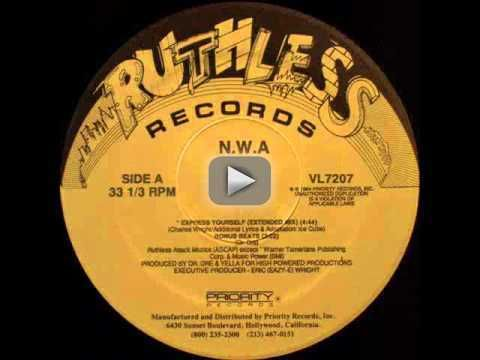 NWA - Express Yourself (Bonus Beats) - NWA Express Yourself (Bonus Beats) Ruthless Records VL7207 Written by Dr. Dre Produced by Dr. Dre and Yella for High Powered Productions Executive Producer: