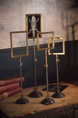 telescoping brass frame stands