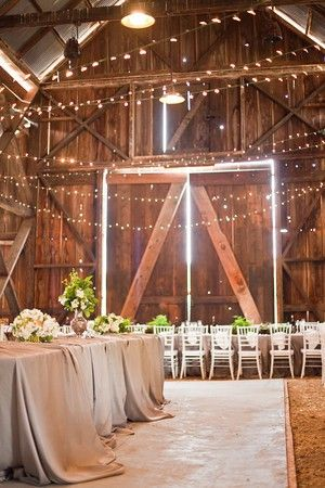 #wedding reception #barn