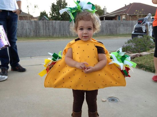A Halloween costume for your little taco.