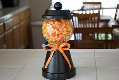 Halloween Candy Jar