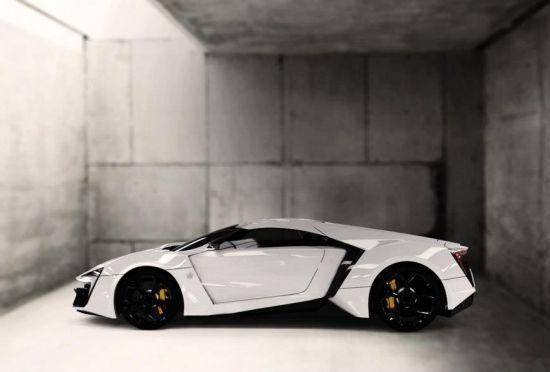 W Motors 3.4 million ultra-luxury LykanHypersport is the first Arabian supercar