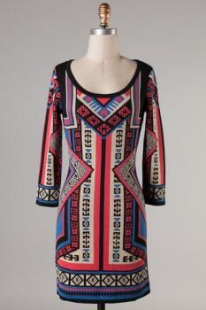 Express Yourself Dress : Swoon Boutique