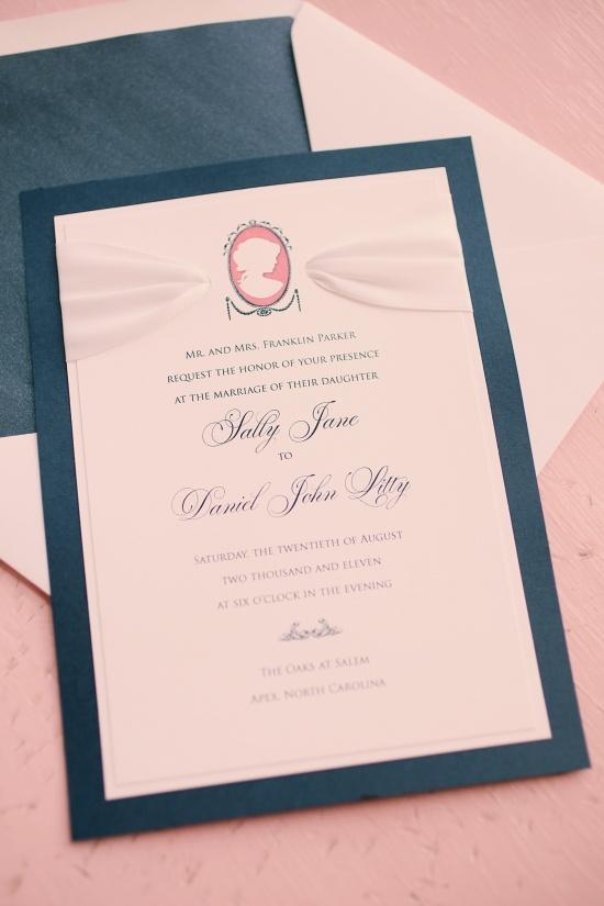 old fashion wedding invite