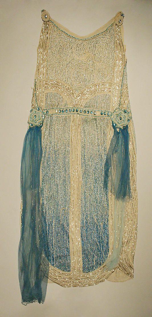 Dress, Evening    Date:      1924