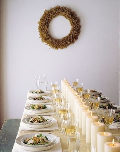 // fall dinner party