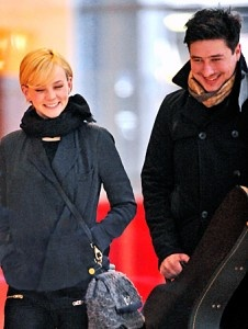My favorite celebrity couple from 2012- Marcus Mumford and Carey Mulligan? adorable