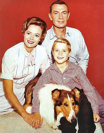 1958: Lassie enjoys its fifth season on television.