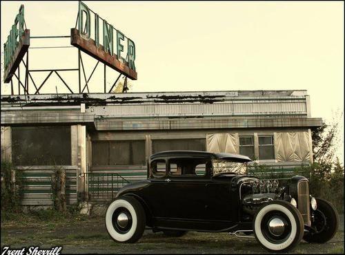 Vintage Cars Life - Diner