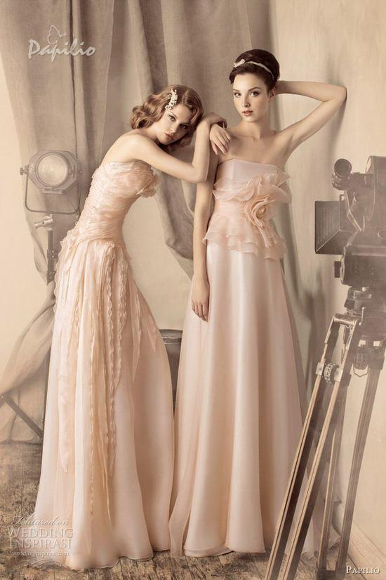 papilio color wedding dresses 2013